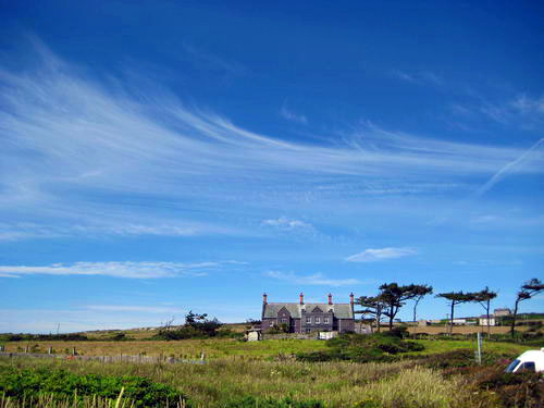 House next to Rhoscolyn Beach