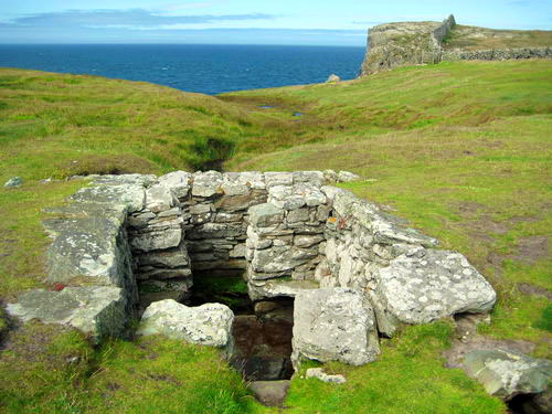 St Gwenfaens well at Rhoscolyn