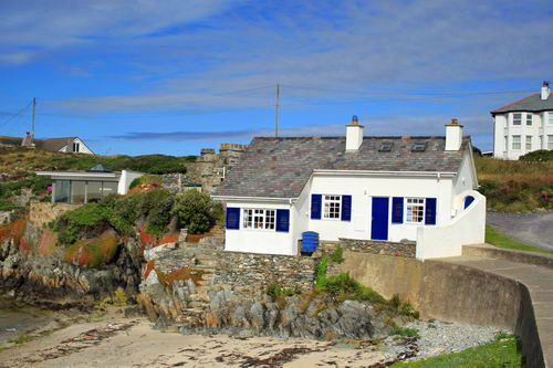 Cottage at Rhoscolyn Beach